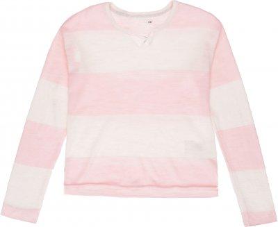 Джемпер H&M 3421023 Біло-рожевий