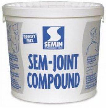 Шпаклівка для внутрішніх робіт Semin Sem Joint Compound 25 кг (відро) Біла (IG9089157285)