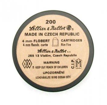 Патроны Флобера Sellier & Bellot 4mm 200 штук