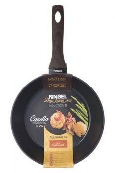Сковорода Ringel Canella h7 см алюминий с антипригарным покрытием (1100-RG)