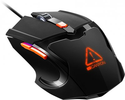 Мышь Canyon Vigil USB (CND-SGM02RGB)