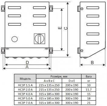 Регулятор швидкості Reventon HC3P 7A (FSHC3P-7A-1995)