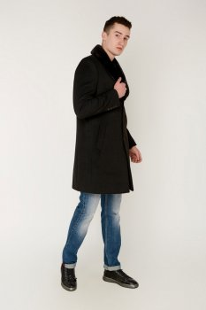 Пальто Rafaello 4030 Чорне 1228800