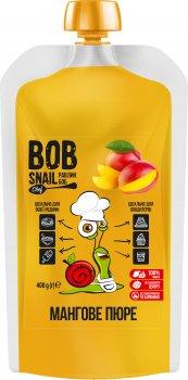 Натуральне мангове пюре Bob Snail 400 г (4820219341390)