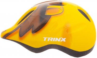 Велосипедний шолом TRINX TT13 animal 44-48 см Yellow (TT13.animal.Y)