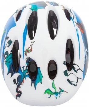 Велосипедний шолом TRINX TT13 animal 44-48 см White (TT13.animal.W)