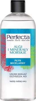 Міцелярна рідина для обличчя Perfecta Водорості та морські мінерали 400 мл (5900525057891)