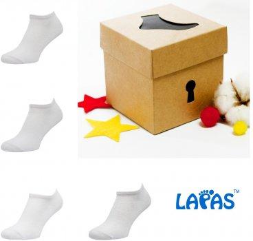 Набор носков Lapas 4P-222-225 (4 пары) Белый W