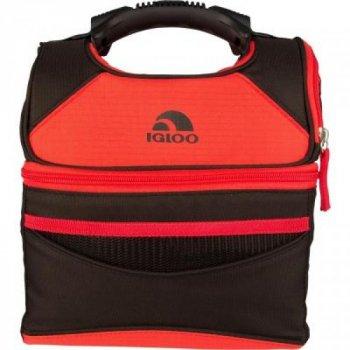 Термосумка, сумка-холодильник на 6 л для продуктів Igloo (0342236284374) Червоний