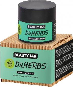 Травяной бальзам для губ Beauty Jar Dr. Herbs 15 мл (4751030831718)