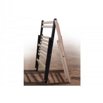 Стул для сада складной из натурального дерева Пикник Микс Мебель цвет Зебра