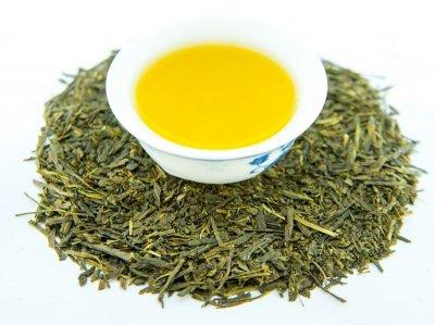 Японский Зеленый чай Teahouse Сентя Фукамуси,100гр