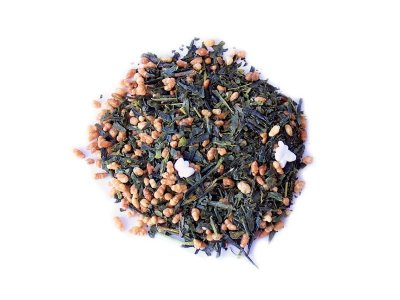 Японский Зеленый чай Teahouse Генмайтя,100гр