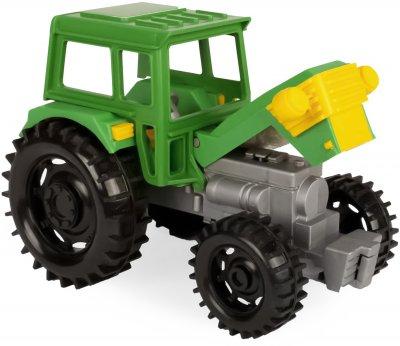 Трактор Tigres Фермер с прицепом (39348 Прицеп)