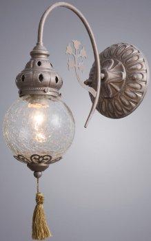 Светильник настенный Arte Lamp A2146AP-1GA Sultan 40W E27 античное золото (A2146AP-1GA)