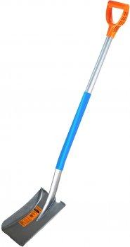 Лопата Gruntek Бобер цельнометаллическая штыковая 1220 мм (295481022)