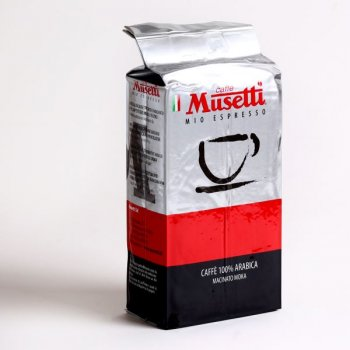 Кава мелена Caffe Musetti Арабіка 250 г