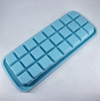 Силиконовая форма для льда Kami Кубики с крышкой 2,5*2,5*2,5 арт 36050