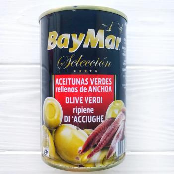 Оливки BayMar фарширована анчоусом Gigante Rellena 1470/600г