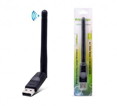USB WIFI адаптер со встроенной антенной 2dbi Ralink RT5370