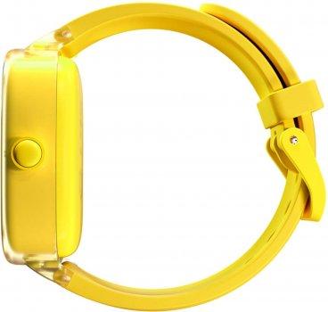 Дитячий смарт-годинник з GPS-трекером Elari KidPhone Fresh Yellow (KP-F/Yellow)