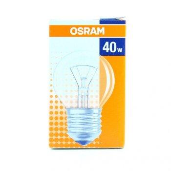 Лампа розжарювання OSRAM Клас Р 40W E27 прозора (10133130)