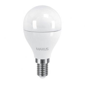 Лампа Maxus LED G45 F 6W 4100K E14 (11532885)