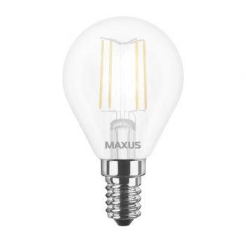 Лампа Maxus LED G45 FM 4W 3000K 220V E14 (11742976)