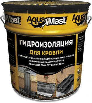 Мастика ТехноНИКОЛЬ AquaMast бітумно-гумова, 18 кг (IG7465053)