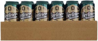 Упаковка пива Berliner Geschichte Pilsner 1237 светлое фильтрованное 4.8% 0.5 х 24 шт.(4015576056821G)