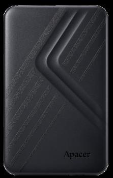 """Жорстку зовнішній диск USB Apacer 3.2 Gen1 AC236 2TB 2,5"""" Чорній (AP2TBAC236B-1)"""