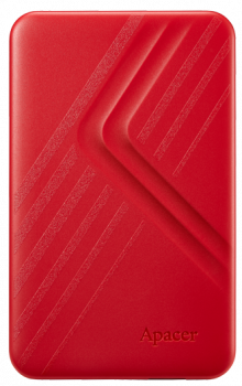 """Жорстку зовнішній диск USB Apacer 3.2 Gen1 AC236 1TB 2,5"""" Червоній (AP1TBAC236R-1)"""