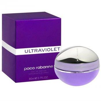 Жіноча парфумерія Парфумована вода Paco Rabanne Ultraviolet EDP 80 мл (3349668092444)