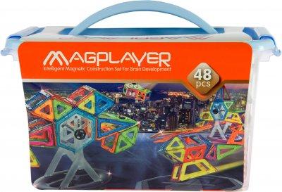 Конструктор магнитный Magplayer 48 элементов (MPT-48)