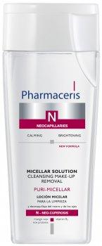 Міцелярна рідина для очищення обличчя й очей Pharmaceris N Puri-Micellar 200 мл (5900717015012)