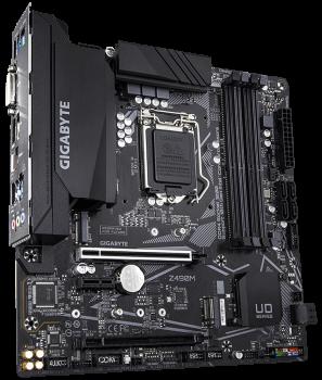 Материнська плата Gigabyte Z490M (s1200, Intel Z490, PCI-Ex16)