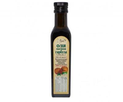 Олія насіння гарбуза (масло семян тыквы) Ан-нушка 250 мл скло (078)
