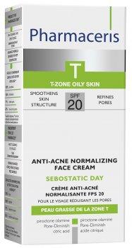 Нормализующий матирующий крем от акне Pharmaceris T Sebostatic SPF20 50 мл (5900717142213)