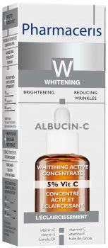 Отбеливающий активный концентрат Pharmaceris W Albucin-C 5% витамина С 30 мл (5900717147065)