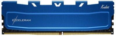 Оперативна пам'ять Exceleram DDR4-2666 4096MB PC4-21300 Blue Kudos (EKBLUE4042619A)