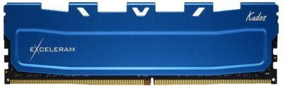 Оперативна пам'ять Exceleram DDR4-3000 16384MB PC4-24000 Blue Kudos (EKBLUE4163021A)