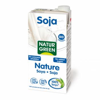 Органическое растительное молоко NaturGreen Соевое без сахара 1 л (8437002932909)