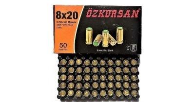 Холостий Патрон Ozkursan кал.8 мм (пістолетний) 50шт