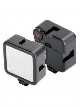 Накамерный свет лампа Ulanzi W49 для смартфона экшн камеры фотоаппарата видеокамер оригинал (380_23)
