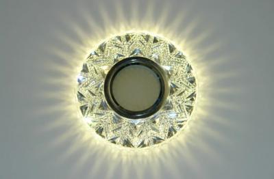 Вбудований світильник Feron 7031 з LED підсвічуванням