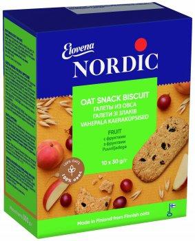 Галеты из овса Nordic с фруктами 300 г (6411200106746)