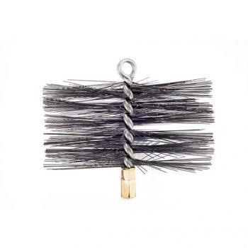 Щітка металева Savent для чищення димоходу різьблення М12 200 мм (12000933)