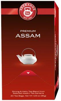Чай Teekanne Чорний Ассам 20 пакетиков (4009300006282)