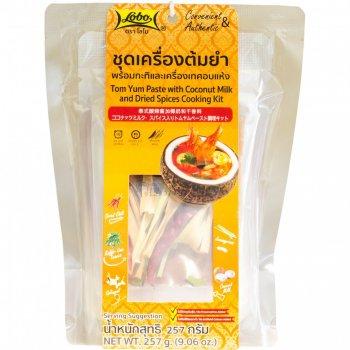 Набор для супа Том Ям 2 порции с кокосовым молоком LOBO 257г
