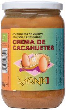 Паста Monki арахисовая органическая 650 г (8712439035707)